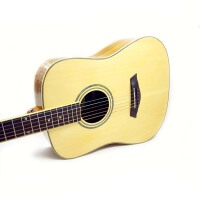 支持货到付款 Jackson 木色  单板 初学入门木吉他 41寸 D型 民谣吉他 适合弹唱  吉他 云衫木面板 玫瑰木指板 D-12S(送礼品:背包+拨片+一弦+背带+扳手 《即兴之路》初学中级教程+CD(特价清仓款)