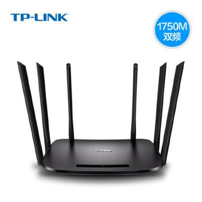 TP-link TL-WDR7300 1750M双频无线路由器,11AC/6天线速度更快,光纤宽带用户新选择 手机APP管理路由 2.4G+5G双频极速体验,WDS无线桥接功能
