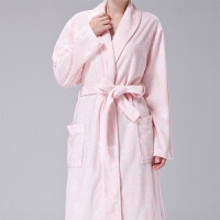 浴袍短款睡袍女夏纯棉毛巾料春秋中袖吸水洗澡日式浴衣薄款