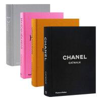 【T&H】Catwalk时尚T台秀 4册套装 Chanel YSL Dior LV 精装大开本 英文原版 服装设计