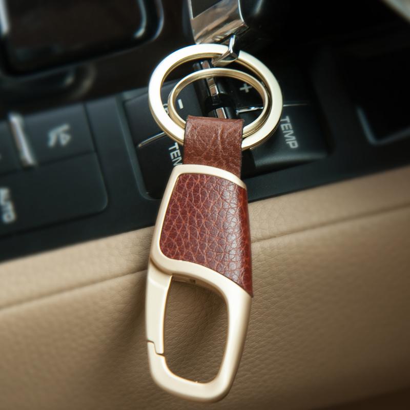 汽车钥匙扣男士腰挂高档简约锁匙扣链圈环挂件创意礼品