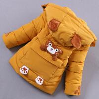 男童棉衣2018新款冬季儿童中长款棉袄加厚中小童羽绒加厚外套