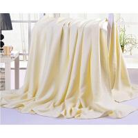 竹纤维毛巾被单双人午睡盖毯儿童竹炭空调毯毛毯夏凉被床单薄款定制