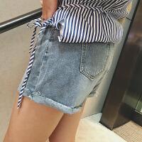 清仓摩妮卡大码女装牛仔短裤2020夏季新款胖mm韩版显瘦百搭热裤子