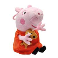 毛绒玩具玩偶佩琪公仔布娃娃佩佩猪儿童玩具挂件生日礼物 19厘米