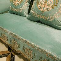 欧式沙发垫防滑坐垫夏季四季通用布艺美式真皮定做沙发套定制