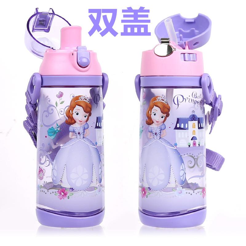 水杯夏季儿童水壶便携防漏户外运动直饮塑料杯小学生水杯