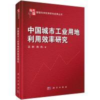 中国城市工业用地利用效率研究