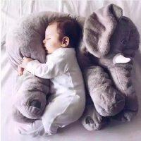 大象毛绒玩具公仔睡觉抱的布娃娃女生可爱床上玩偶抱枕生日礼物 60厘米