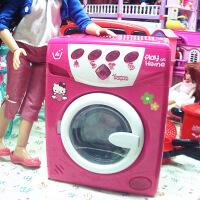 六一儿童节520过家家厨房玩具 儿童玩具洗衣机 仿真电动灯光大号洗衣机家电玩具520礼物母亲节 图片色