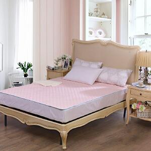 [当当自营]富安娜床垫磨毛印花保护垫 芊雅印花 绿色 150*200