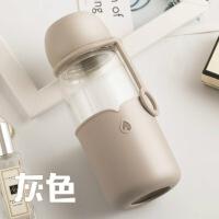 【好货】玻璃杯子便携可爱随手杯创意男女学生韩版过滤茶杯泡茶小水杯