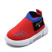 1-3岁软底鞋春夏季学步鞋飞织透气鞋宝宝鞋子婴儿透气学步鞋