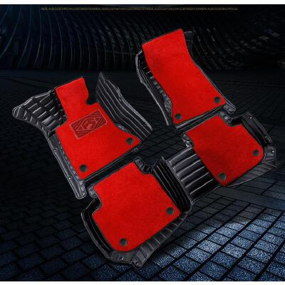 全包围汽车脚垫 专用脚垫奥迪A4LA6LA7Q5Q3Q7 宝马3系5系X5X6 下单备注车型型号