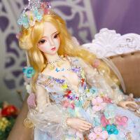 芭比娃娃 新年礼物 精品 德必胜娃娃梦童话系列60cm 26关节3分娃仿真玩具女孩公主礼物bjd换装 弗罗伦丝