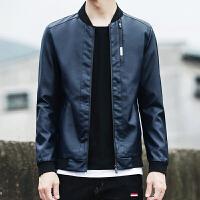 秋季新款男士皮衣修身韩版外套PU机车皮衣男士大码夹克外套