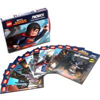 英文原版绘本 Lego DC Super Heroes: Phonics乐高DC英雄自然拼读12册 儿童读物阅读英语训