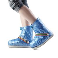 雨靴雨鞋 男女通用防水防滑雨鞋套加厚底pvc透明雨靴