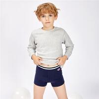 [2件5折到手价14.5]都市丽人都市贝比儿童内裤男童平角裤棉底裤宝宝内裤中大童短裤