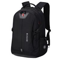 双肩书包男中学生书包女大学背包旅行背包