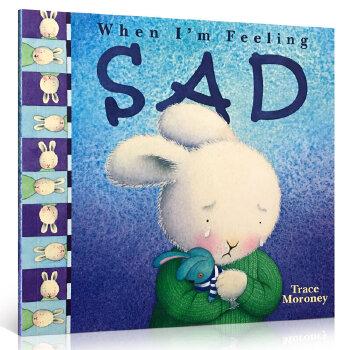 《英文原版 When I'm Feeling Sad 毛毛兔的情绪