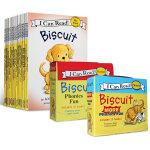 顺丰包邮 英文原版绘本 I Can Read 一阶段 Biscuit 47册 汪培�E推荐0-3-5岁阅读学习英语 小饼