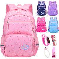 书包女1-3-6年级儿童6-12岁周女生公主背包