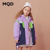 【折后券后�A估�r:355】MQD童�b女童�_�h衣棉衣2020冬�b新款�和�中�L款�杉�套外套