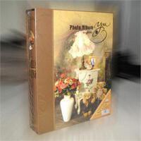 复古花纹相册 3R/5寸相册 200张带记事条