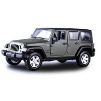 吉普牧马人车模仿真合金jeep越野汽车模型摆件