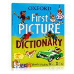 牛津儿童英语图解词典Oxford First Picture Dictionary 英文原版工具书 形象插画加深记忆