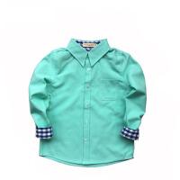 中小童打底衬衣儿童宝宝童装秋冬装男童衬衫棉白牛津纺长袖