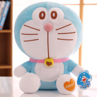 六一儿童节520哆啦a梦公仔毛绒玩具机器猫抱枕布娃娃玩偶蓝胖子生日礼物男女孩520礼物母亲节