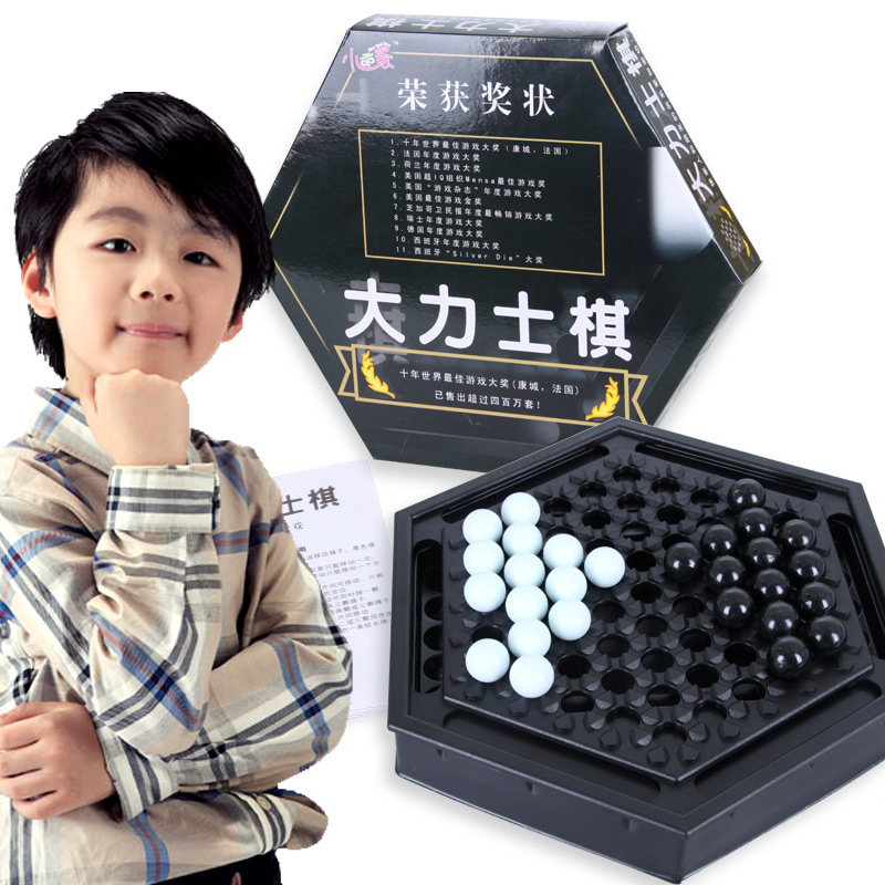 小乖蛋 大力士棋 儿童桌面智力动脑游戏棋 益智玩具益智玩具限时钜惠