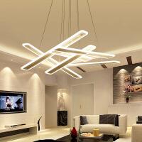 精美护眼时尚长条LED办公室大气客厅灯创意餐厅吧台个性艺术精美时尚吸顶灯 4条 60*10CM 白光