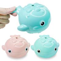 宝宝洗澡玩具儿童婴儿戏水喷水男女孩花洒浴室下雨的鲸鱼