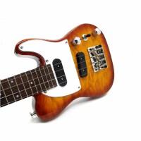 支持货到付款 ukulele 电尤克里里23寸 夏威夷成人小四弦电琴 电声小吉他 电乌克丽丽 FTLUK-3-FVS