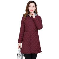 反季女新款轻薄棉衣女中长款修身韩版大码冬季外套棉袄子