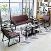 【优选】大小户型小型公司办公家具办公桌办公室钢架套装会客室新中式公寓 +方几+方几