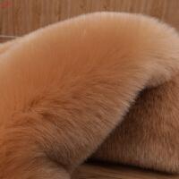 新品冬季沙发垫真皮防滑坐垫加厚布艺长毛绒飘窗台垫仿狐狸毛毛垫定做定制