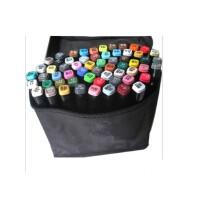 好吉森鹤/北京线上50元包邮//TOUCH-3代油性酒精马克笔/三代马克笔24色套装/设计动漫绘图用笔彩笔/彩色马克笔//绘图笔-----1套24支24色+送品9633