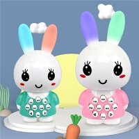 儿童兔子早教机宝宝早教故事机婴儿会说话唱歌益智玩具女孩0-3岁