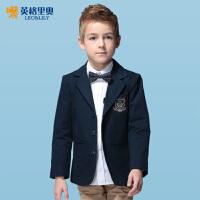 秋冬青少年中大童英格里奥童装男童新款儿童礼服男童西装外套LLB1103