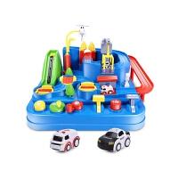 汽车大冒险闯关玩具儿童男孩托马斯小火车轨道车套装