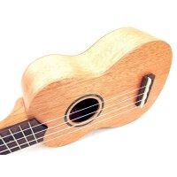 (货到付款)Ahtons 乌克丽丽 (面单)尤克里里 初学 ukulele 音孔 贝壳镶嵌 小四弦琴 21寸 简单易学