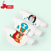 【1件3折】南极人儿童吸汗巾纯棉垫背巾宝宝幼儿园全棉婴儿单向导湿加大码