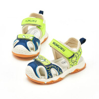 2019新款时尚儿童凉鞋女童男童凉鞋小童孩软底包头机能鞋子