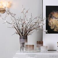 水培渐变色花瓶玻璃插花器小清新客厅餐桌面创意家居软装饰摆件花瓶花艺家居软饰摆件