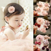 儿童发夹公主皇冠发饰宝宝发夹套装婴儿发夹不伤发头饰