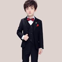 儿童西装套装花童礼服男演出服男童主持人帅气英伦小西装大童春秋